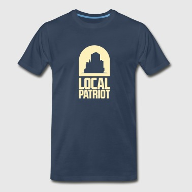 Famous Bar Local Patriot City - Men's Premium T-Shirt