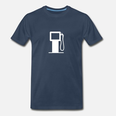Filling Station Filling Station-Gasoline-Diesel fuel-oil-petrol - Men's Premium T-Shirt