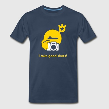 Mysugr I take good shots - Men's Premium T-Shirt