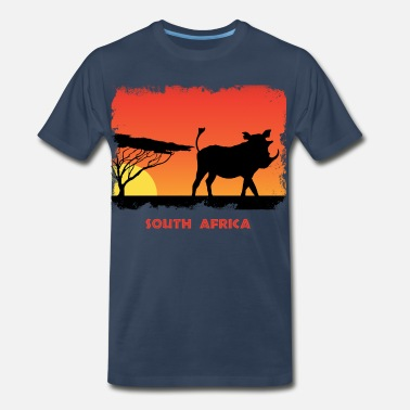 Tanzania South Africa - Men's Premium T-Shirt