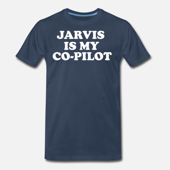 Jarvis Is My Copilot Mens Hoodie