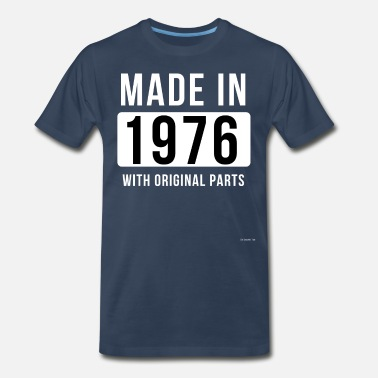 44 Birthday Made In 1976 - Men's Premium T-Shirt