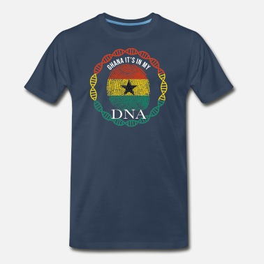 Flag Ghana Ghana Its In My DNA - Men's Premium T-Shirt