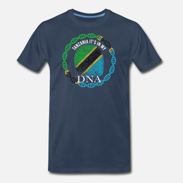 Its My Dna Tanzania Its In My DNA - Men's Premium T-Shirt