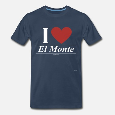 Ca El Monte California CA Californian - Men's Premium T-Shirt