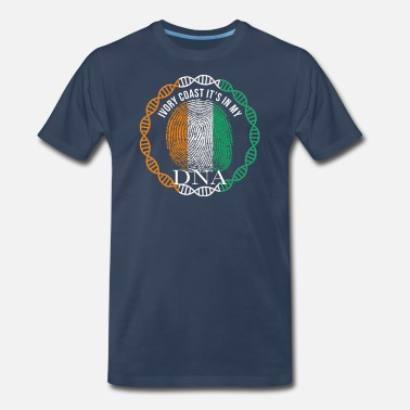 Ivory Coast Ivory Coast Its In My DNA - Men's Premium T-Shirt