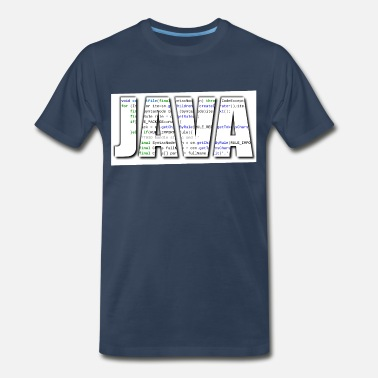 Programming Java JAVA - Men's Premium T-Shirt