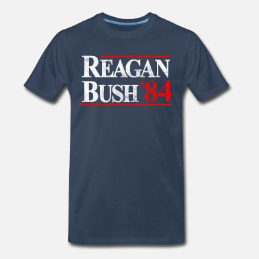 Reagan Bush Reagan - Bush '84 - Men's Premium T-Shirt