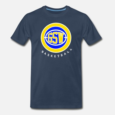 Splash Brother GSW VINTAGE - Men's Premium T-Shirt