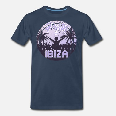 Hardstyle Party in Ibiza - Men's Premium T-Shirt