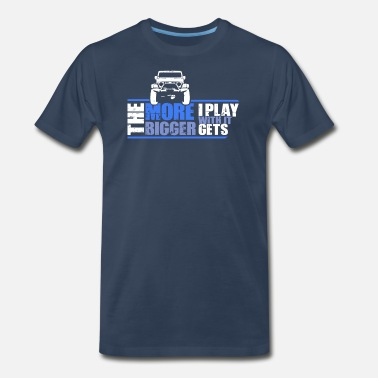 Wheel The More I Play With It The Bigger It Gets Gift - Men's Premium T-Shirt