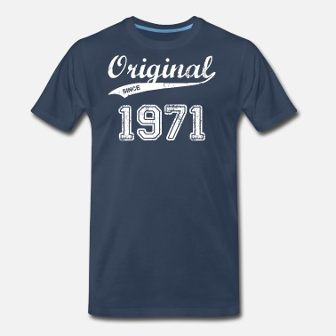 Made In 1971 1971 - Men's Premium T-Shirt
