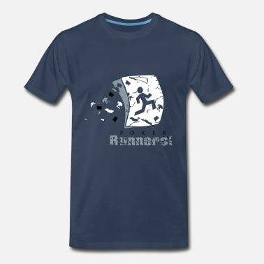 Poker Runners - Men's Premium T-Shirt