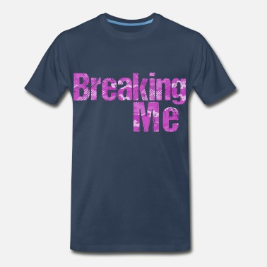 Pop Up Breaking Me PINK camouflage - Men's Premium T-Shirt