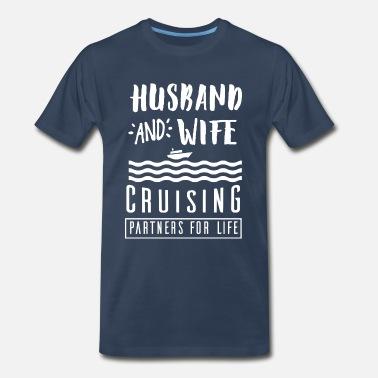 tee Husband and Wife Cruising Partners for Life Women Sweatshirt