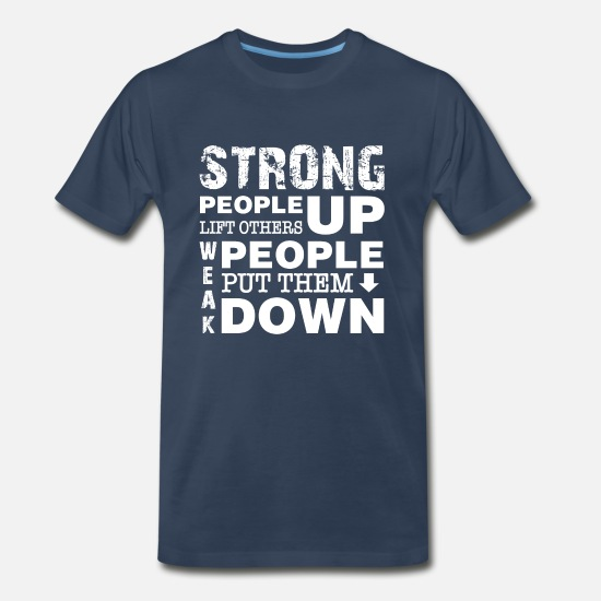 Bullying T-Shirts - Anti Bullying Stand Up - Men's Premium T-Shirt navy