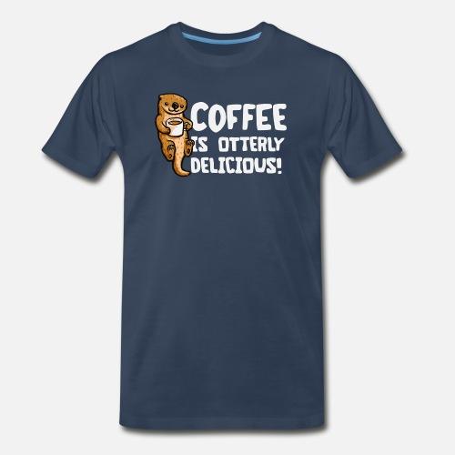 081e63f85 Otter Coffee Men's Premium T-Shirt | Spreadshirt