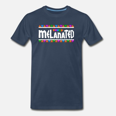 Melanated Melanated - Men's Premium T-Shirt