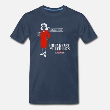 Arrested Arrested Development Breakfast At Lucille s T Sh - Men's Premium T-Shirt