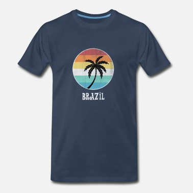 Palm Brazil - Men's Premium T-Shirt
