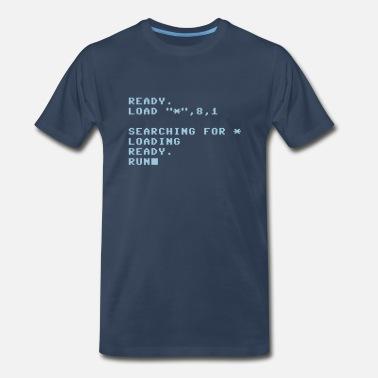 060a8433 Commodore 64 C64 - Loading Screen - Retro - Computer - Men's Premium T-Shirt