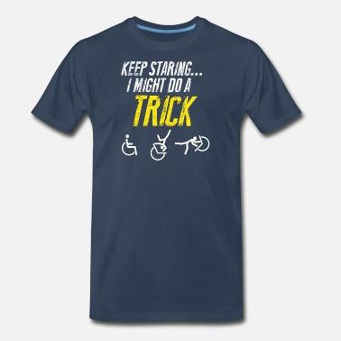 6ccc6655a4 Handicap Funny Funny Handicap Gift – Get well Soon - Men's Premium T-Shirt