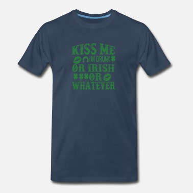 Irish Hooligans Funny St Patty's day shirt, St. Patrick's Day tee - Men's Premium T-Shirt