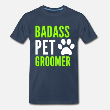 Pet Grooming Pet Groomer Grooming Gift - Men's Premium T-Shirt