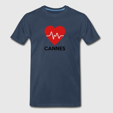 Heart Cannes - Men's Premium T-Shirt