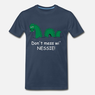 Loch Ness Monster Loch Ness Monster, affectionately known as Nessie! - Men's Premium T-Shirt