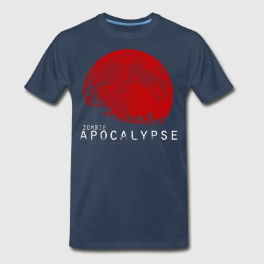 The Zombie Apocalypse - Men's Premium T-Shirt