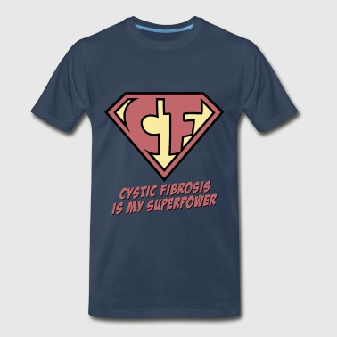 Cystic Fibrosis is my superpower - Men's Premium T-Shirt