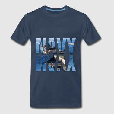 navy - Men's Premium T-Shirt
