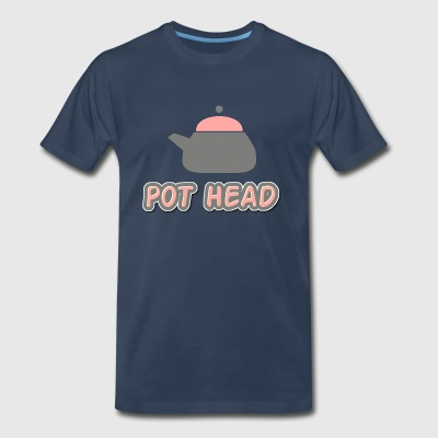 Pot Head - Men's Premium T-Shirt