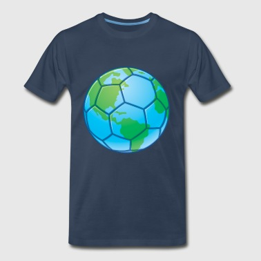 World Cup Soccer Ball - Men's Premium T-Shirt