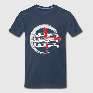 three lions - Men's Premium T-Shirt