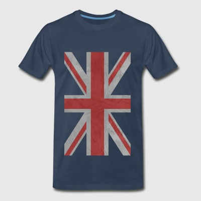 OZZIEPINKIE UK FLAG 00013 - Men's Premium T-Shirt