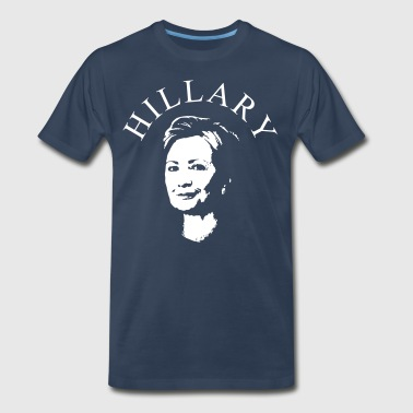 Hillary Clinton - Men's Premium T-Shirt
