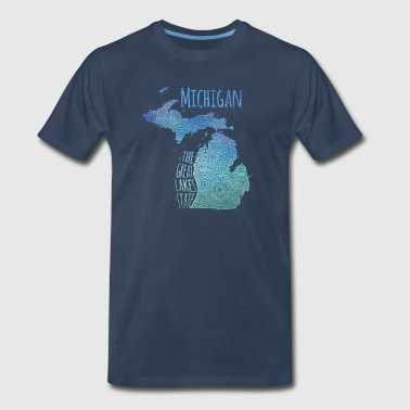Michigan - Men's Premium T-Shirt