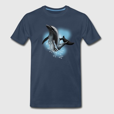 dolphin - Men's Premium T-Shirt