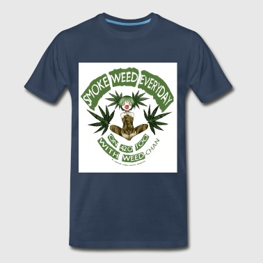 Weed / Cannabis / 420 + Anime lover Gear - Men's Premium T-Shirt