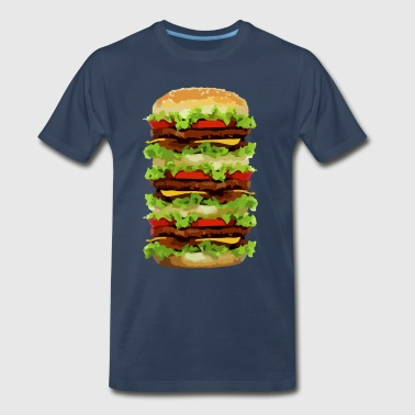 XXL Hamburger - Men's Premium T-Shirt