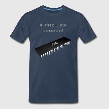 Vintage Chip Z80 Microprocessor - Men's Premium T-Shirt