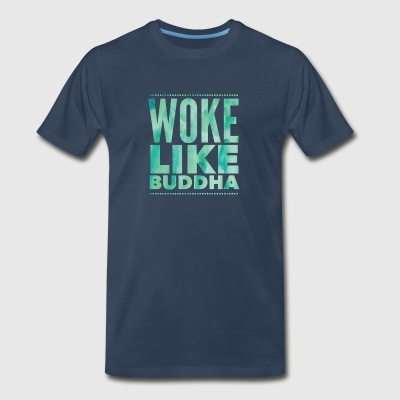 Woke Like Buddha - Men's Premium T-Shirt