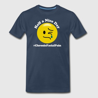 #ChronicFacialPain - Men's Premium T-Shirt