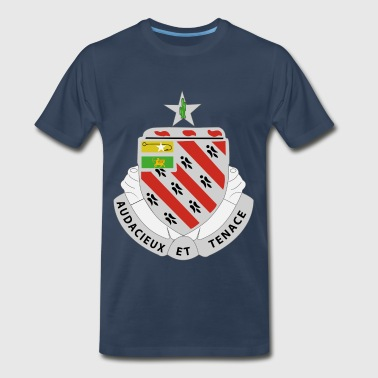 8th Field Artillery Regiment Crest - Men's Premium T-Shirt