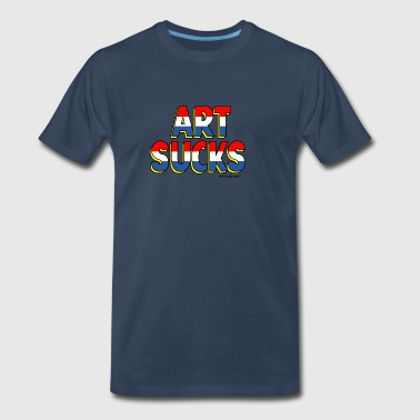 Art Sucks American Hero - Men's Premium T-Shirt