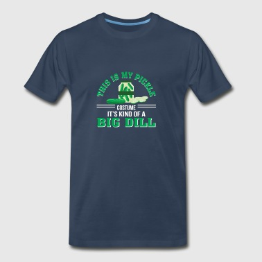 This Is My Pickle Costume Kind Big Dill - Men's Premium T-Shirt