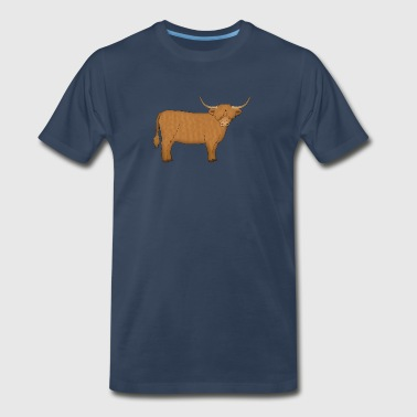 Highland Cattle - Men's Premium T-Shirt