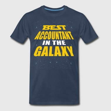 Best Accountant In The Galaxy - Men's Premium T-Shirt